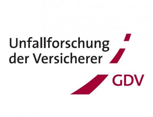 Logo der Unfallforschung der Versicherer (UDV) im Gesamtverband der Deutschen Versicherungswirtschaft