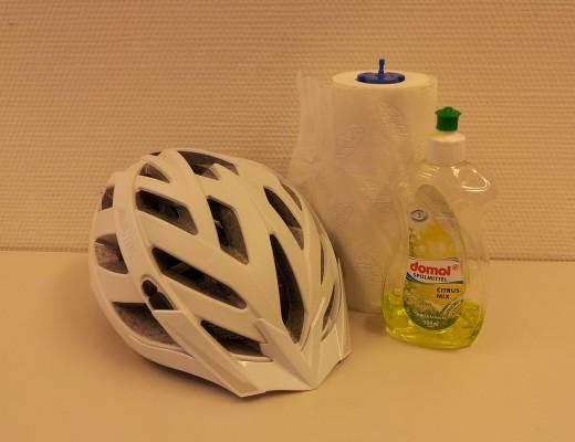 Richtige Reinigung eines Fahrradhelm
