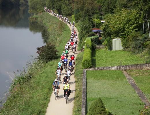 Fahrradtour 2014 im Rahmen der Ich trag Helm Kampagne