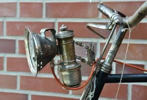 Alter Fahrradscheinwerfer